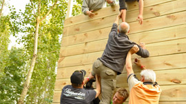 Teambuilding Element Wand