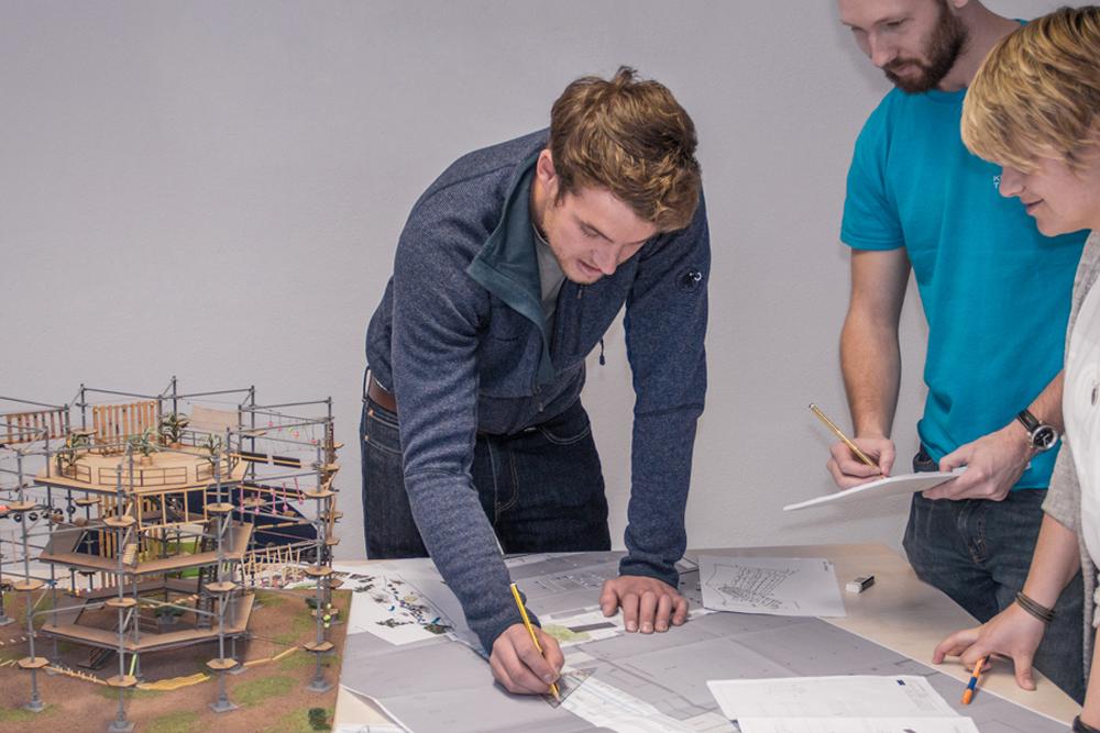 Planung und Entwicklung