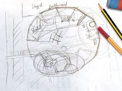 Playground equipment sketch