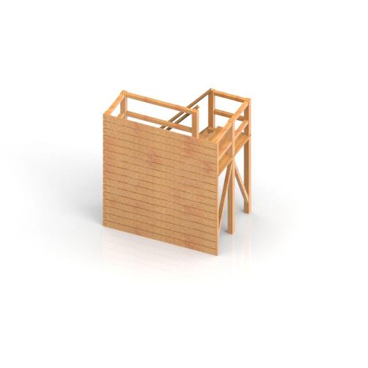 Team building Objekt Holzwand / Wall