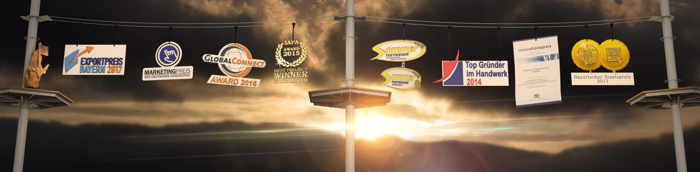 Unternehmen Awards und Preise